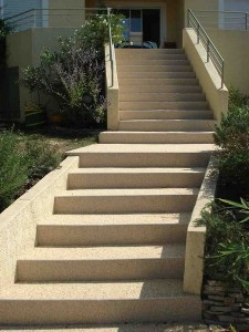 escalier extérieur escalier design