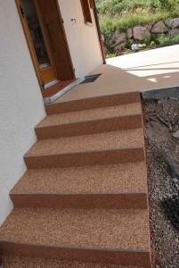 escalier quart tournant escalier extérieur