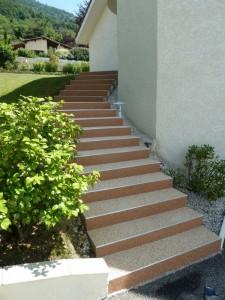 escalier quart tournant escalier moderne limon escalier escalier sur mesure