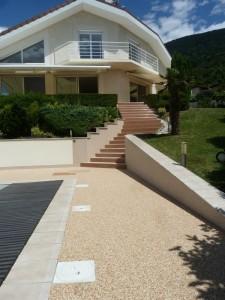 escalier extérieur escalier moderne